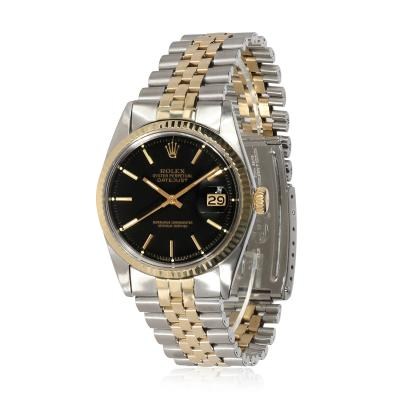Rolex Watch Co Rolex Datejust 1601 Mens Watch in 14kt Stainless Steel Yellow Gold