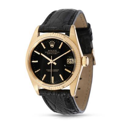 Rolex Watch Co Rolex Datejust 6827 Unisex Vintage Watch in 18kt Yellow Gold