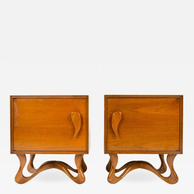 Roman Furniture Corp Pair of Night Stands