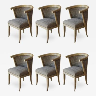 Romweber Set of Six Romweber Dining Chairs