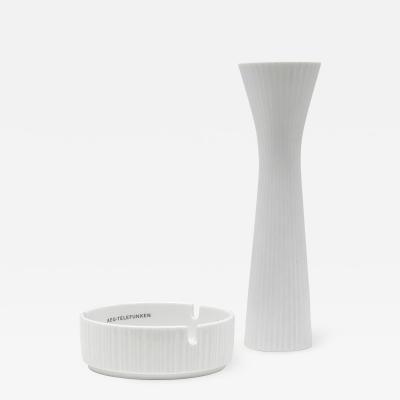 Rosenthal Rosenthal Vase and Ashtray