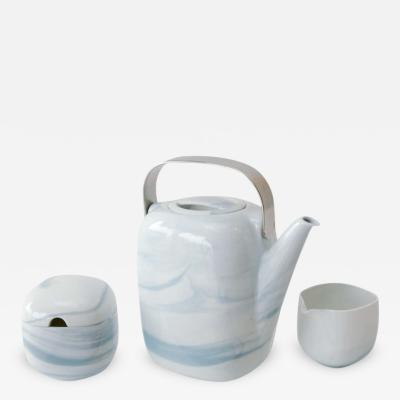 Rosenthal Tea Service in Queensberry Marble Pattern by Rosenthal Studio Line