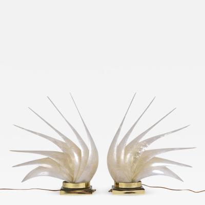 Rougier Pair of Table Lamps by Rougier