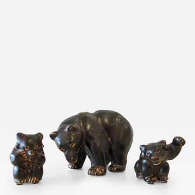 Royal Copenhagen Important Grouping of Royal Copenhagen Bears