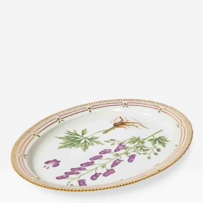 Royal Copenhagen Royal Copenhagen Flora Danica large serving platter