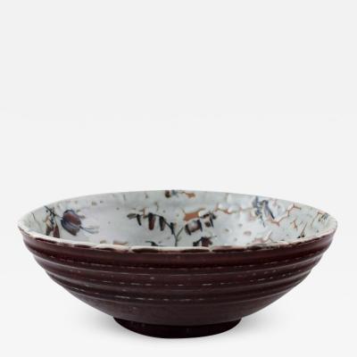 Royal Copenhagen Royal Copenhagen ceramics Unique bowl signed by Thorkild Olsen approx 1950