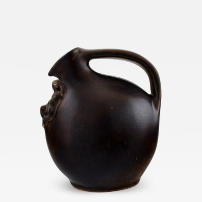 Royal Copenhagen Stoneware jug with handle