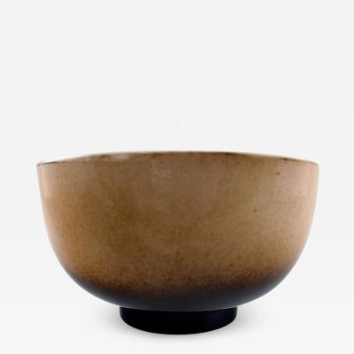 Royal Copenhagen Unique Royal Copenhagen large ceramic bowl by Nils Thorsson