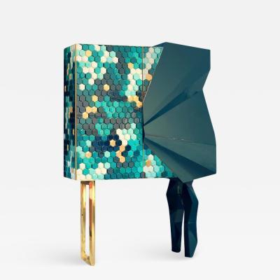 Royal Stranger Honeycomb Emerald Cabinet Royal Stranger