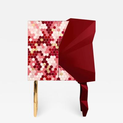 Royal Stranger Honeycomb Ruby Cabinet Royal Stranger