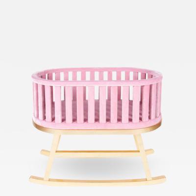 Royal Stranger Pink Contemporary Cradle by Royal Stranger