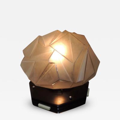 Ruba Rhombic Modernist Lamp in the style of Ruba Rhombic