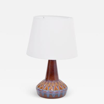 S holm Stent j Soholm ceramics Danish Mid Century Modern Table Lamp Model 1058 by Soholm