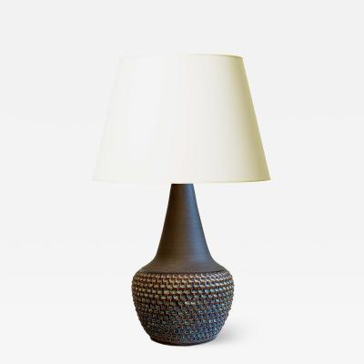 S holm Stent j Soholm ceramics Dazzling Mod Table Lamp by Einar Johansen for Soholm