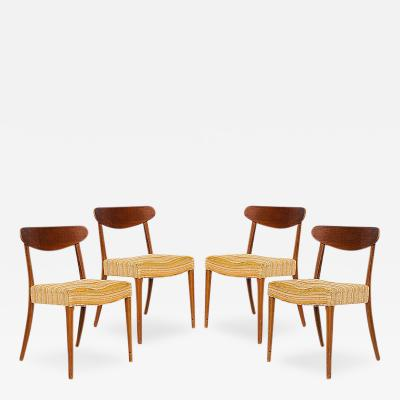 S ren Willadsens M belfabrik Set of 4 Danish Dining Chairs