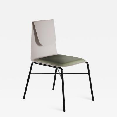 SECOLO Fold Metal Dining Chair designed by Artefatto Design Studio