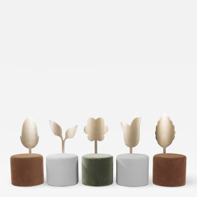 SECOLO Giardino Botanico collection by Artefatto Design Studio for Secolo set of 5