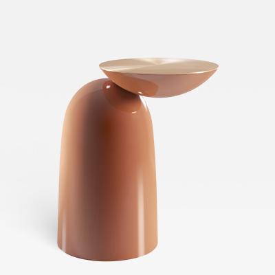 SECOLO Pingu Laquered Side Table Designed by Artefatto Design Studio