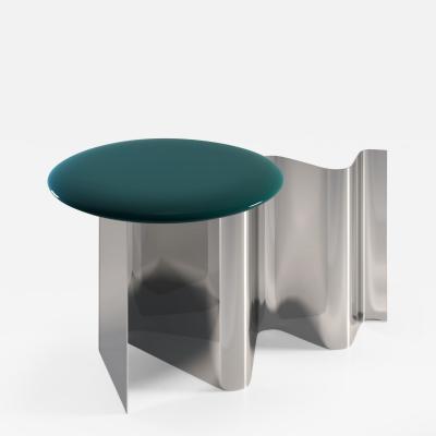 SECOLO Sketch Mirrored Side Table designed by Artefatto Design Studio