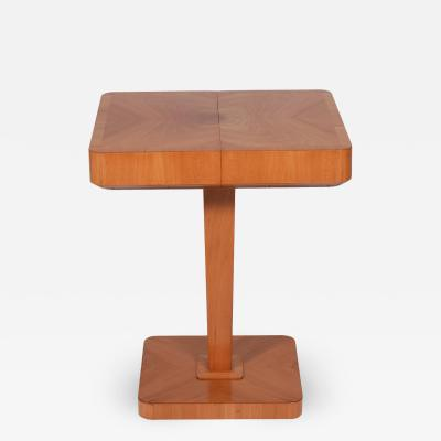 SMF Svenska M belfabriken Bodafors Swedish Art Deco side table for Bodafors 1930s