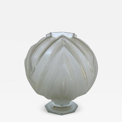 Sabino Art Glass French Art Deco Sabino Art Glass Vase