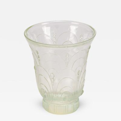 Sabino Art Glass Sabino Opalescent Glass Vase