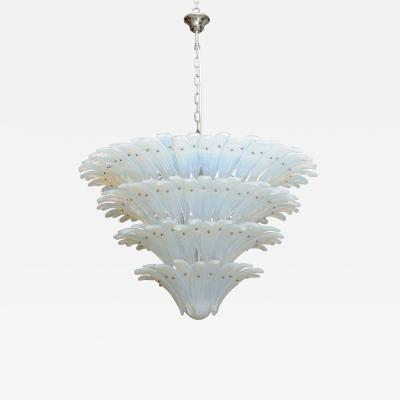 Sabino Art Glass Very Fine and Monumental Sabino Opalescent Glass Chandelier