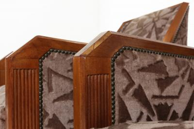 Saddier et Fils Art Deco set by Gaston et Fernand Saddier Ca 1925