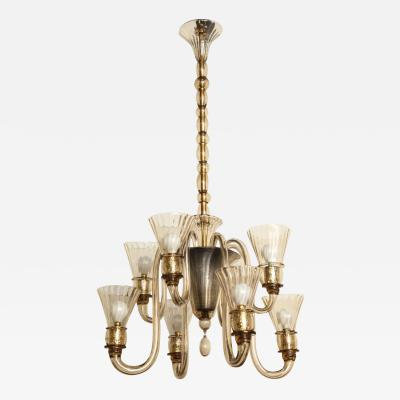 Salviati Salviati Chandelier made in Venice 1930
