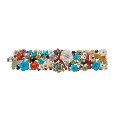 Santagostino Carved Gemstone Bracelet