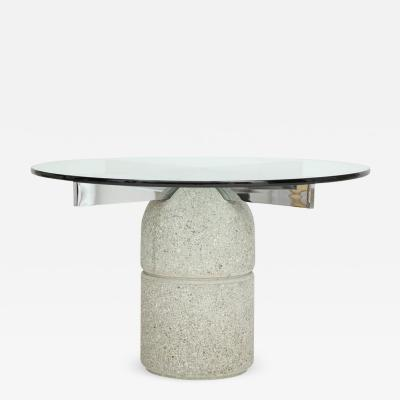 Saporiti 970s Dining Table byGiovanni Offered for Saporiti