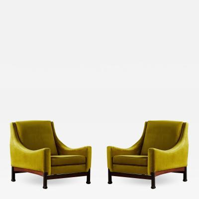 Saporiti A pair of armchairs