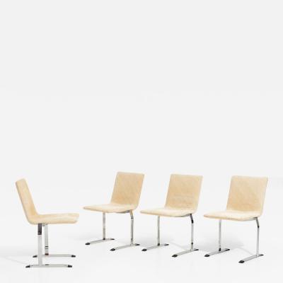 Saporiti Giovanni Offredi for Saporiti Dining Chairs Italy 1970 s