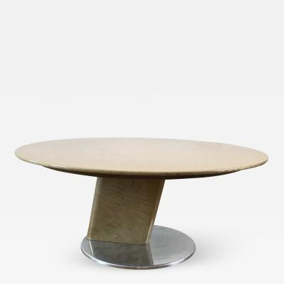 Saporiti Post Modern Round Coffee Table - Post modern coffee table