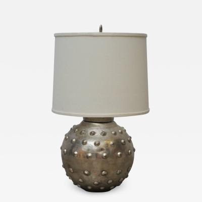 Sarreid Ltd Studded Lamp by Sarreid Ltd