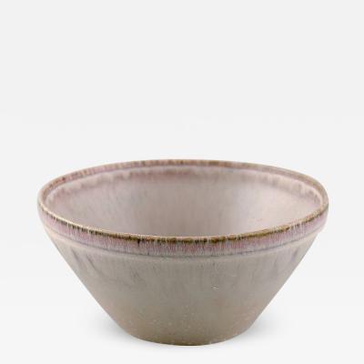 Saxbo Bowl in glazed ceramics Beautiful eggshell glaze