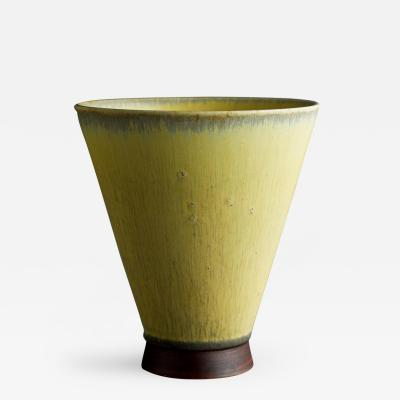 Saxbo Muted Yellow Vase
