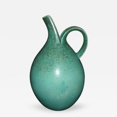 Saxbo Saxbo Turquise Blue Pitcher with Spout and Handle