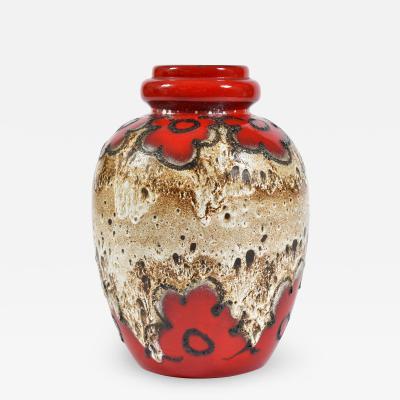 Scheurich Keramik Large Vintage No 286 42 Ceramic Vase from Scheurich 1970s