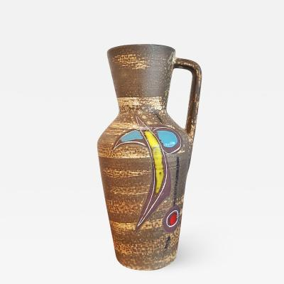Scheurich Keramik SCHEURICH KERAMIK ABSTRACT DECOR PITCHER VASE Nr 407 35