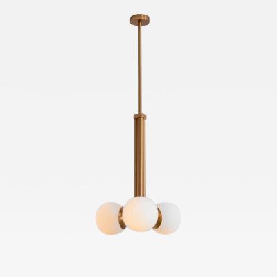 Schwung Brass Contemporary Pendant Light by Schwung