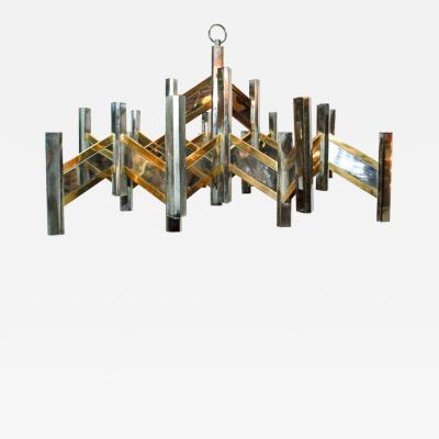 Sciolari Lighting Geometric Chandelier by Sciolari