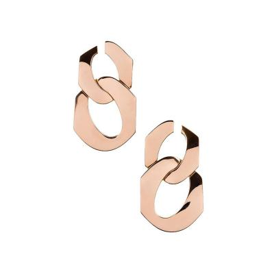 Seaman Schepps Seaman Schepps Gold Double Drop Link Earrings