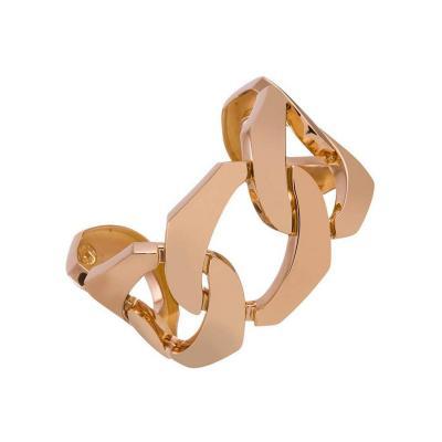 Seaman Schepps Seaman Schepps Gold Five Link Cuff Bracelet