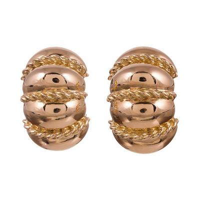 Seaman Schepps Seaman Schepps Gold Shrimp Earrings