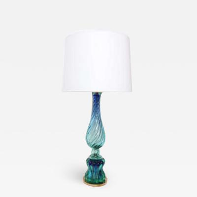 Seguso Seguso Table Lamp Mid Century Modern Murano Art Glass Italy 1950s