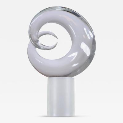 Seguso Signed Seguso Murano Glass Sculpture