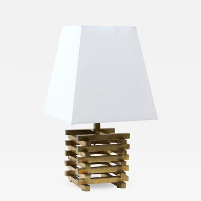 Seguso Single Table Lamp made in Italy in 1960 by Seguso
