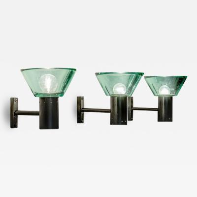 Seguso Three Seguso Wall Lights