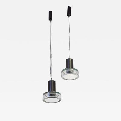 Seguso Verti d Arte A PAIR OF SEGUSO CEILING LIGHT